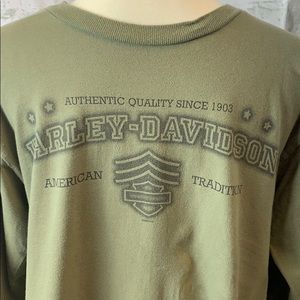 Harley Davidson Sz L long sleeve tee